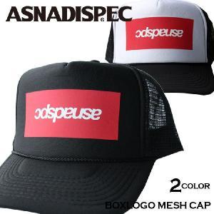帽子 メンズ キャップ ASNADISPEC/アスナディスペック/プリントメッシュキャップ/as-cap-16|attention-store