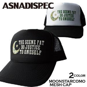 帽子 メンズ キャップ ASNADISPEC/アスナディスペック/プリントメッシュキャップ/as-cap-18|attention-store