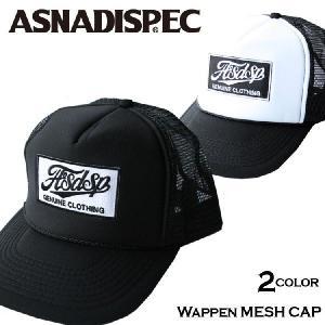 帽子 メンズ キャップ ASNADISPEC/アスナディスペック/プリントメッシュキャップas-cap-19|attention-store