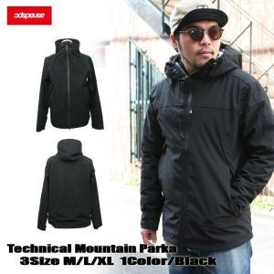 マウンテンパーカー BLACK メンズ ジャケット マンパ ASNADISPEC アスナディスペック ストリート系 ファッション|attention-store