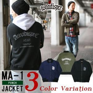 MA-1 ジャケット メンズ フライトジャケット アメカジ ASNADISPEC アスナ アスナディスペック ストリート系 ファッション|attention-store