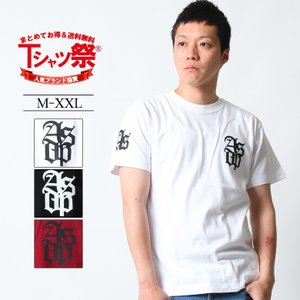 Tシャツ メンズ 半袖 ブランド アスナディスペック アスナ ASNADISPEC ストリート アメカジ 黒 白 ダンス 大きいサイズ XL XXL プリント ロゴ /3045/|attention-store