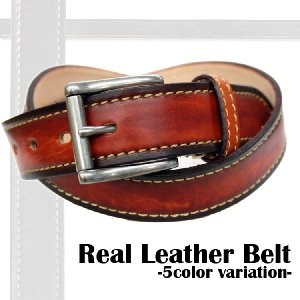 Real Leather Belt / リアルレザーベルト|attention-store