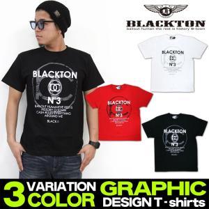 Tシャツ メンズ ティーシャツ ブラクトン BLACKTON 半袖 ロゴT アメカジ ストリート系 M L XL XXL /3045/|attention-store