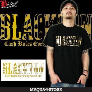 Tシャツ メンズ 半袖 ブランド ブラクトン BLACKTON 日章 ストリート 黒 白 ダンス B系 大きいサイズ XL XXL プリント ロゴ /3045/|attention-store