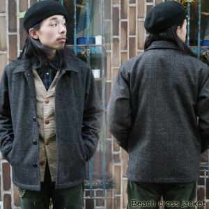 ビーチクロス メンズ ジャケット スイングトップ コート ビーチクロスジャケット CONFUSE|attention-store