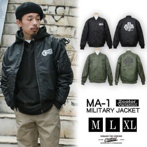 メンズ ジャケット ミリタリー フライトジャケット MA-1 CONFUSE/コンフューズ|attention-store