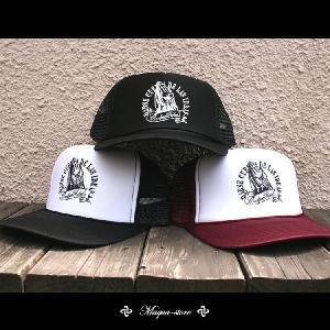 メッシュキャップ メンズ CAP CONFUSE ストリート JOINING HANDS CAP|attention-store