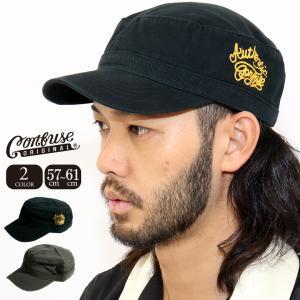 帽子/キャップ/メンズ/アメカジ/ストリート/ワークキャップ/CAP/CONFUSE/コンフューズ|attention-store