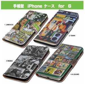 手帳型iPhoneケース 6用 attention-store