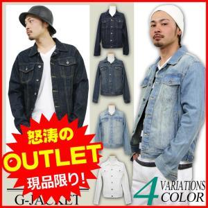 Gジャン デニムジャケット メンズ ジージャン アメカジ ホワイトデニム ストリート系 ファッション|attention-store