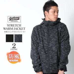 REALCONTENTS マウンテンパーカー メンズ ジャケット マンパ ストレッチ フード 防風 リアルコンテンツ ストリート 黒 ブラック M L XL XXL attention-store