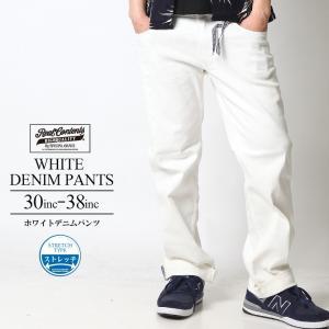 ホワイトデニム デニムパンツ メンズ 白パンツ リアルコンテンツ REALCONTENTS アメカジ ストリート系 ファッション|attention-store