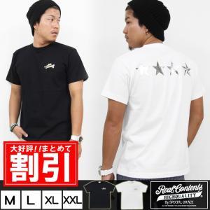 Tシャツ メンズ 半袖 ティーシャツ TEE リアルコンテンツ REALCONTENTS XL XXL 2XL 3L 大きいサイズ ブランド アメカジ ストリート系 /3045/|attention-store