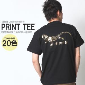 Tシャツ メンズ 半袖 アメカジ ワーク ストリート サーフ 黒 白 大きいサイズ M L XL XXL 2L 3L プリント ロゴ カットソー ブランド コラボ 限定Tシャツ|attention-store