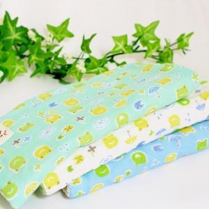 ガーゼハンカチ 8重ガーゼ ハンドメイド カエル かえる 傘 20cm プレゼント 出産祝い タオル 男の子 M atticotti