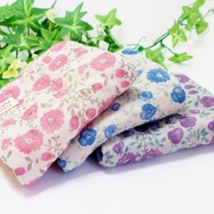 ガーゼハンカチ 8重ガーゼ ハンドメイド フォグフラワー 花柄 タオル プレゼント 母の日 祝い 粗品   S|atticotti