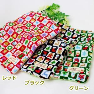 期間限定 約20×15cm ガーゼハンカチ 8重ガーゼ ハンドメイド クリスマス  タオル プレゼント 使いやすい大きさ 祝 誕生日 母の日 お礼|atticotti