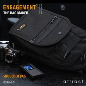 ENGAGEMENT エンゲージメント Engaged Nylon エンゲージド・ナイロン Shoulder Bag ワンショルダーバッグ ボディバッグ EGBB-001