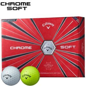 キャロウェイ CHROME SOFT 1ダース/12個入り_#Callaway#ゴルフボール#クロムソフト#グラフェン