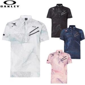 6ec25153 オークリー 2019 SKULL BREATHABLE GRAPHIC SHIRTS 男性用ポロシャツ 434395JP#OAKLEY #19SS#スカルブレサブルグラフィックシャツ