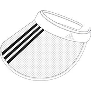 [adidas]アディダスバッグ UVバイザー (GOT16)(FM2323) ホワイト[取寄商品]