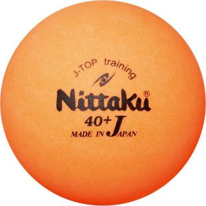 [Nittaku]ニッタク 40mmトレーニングボール 3球×4箱 カラーJトップトレ球 (NB-1...