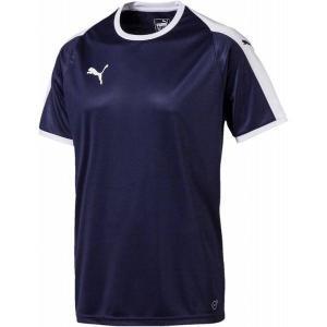 [PUMA]プーマ LIGA ゲームシャツ (703637)(06) ピーコート/プーマホワイト[取...