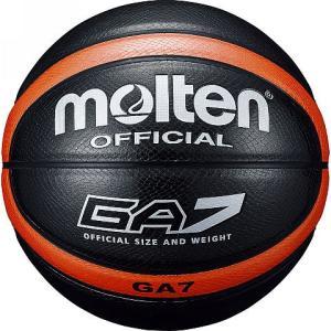 [molten]モルテン 外用バスケットボール7号球 GA7 (BGA7KO) ブラック[取寄商品]