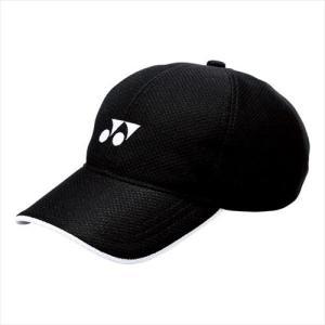 [YONEX]ヨネックステニスウェアメッシュキャップ(ユニ)(40002)(007)ブラック[取寄商...