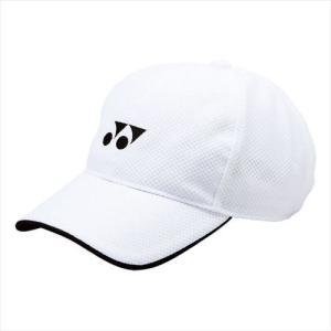 [YONEX]ヨネックステニスウェアメッシュキャップ(ユニ)(40002)(011)ホワイト[取寄商...