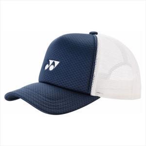 [YONEX]ヨネックステニスウェアメッシュキャップ(40007)(019)ネイビーブルー[取寄商品...