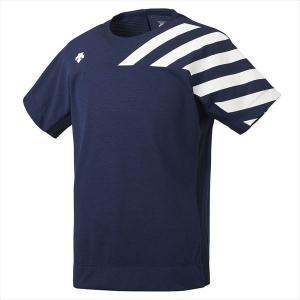 [DESCENTE]デサント Tシャツ (DMMOJA52)(NVM) ネイビー杢[取寄商品]
