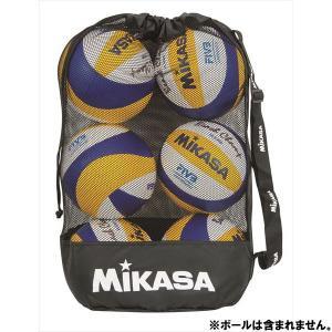 [MIKASA]ミカサ 巾着型メッシュボールバッグ 中 (MBAS)[取寄商品]
