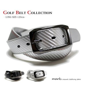 カーボンデザイン カラーステッチベルト ゴルフベルト 大きいサイズ対応 120cm ロングサイズ 長さ切断可能|auc-mark