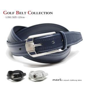 DESIGN BACKLE SINPLE STITCH BELT 大きいサイズ対応 デザインバックル シンプルステッチベルト ベルト ゴルフ メンズ レディース 合皮 PUレザー|auc-mark