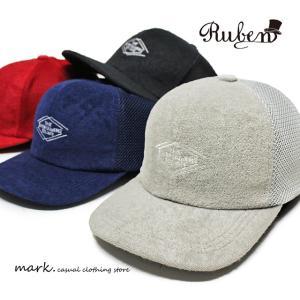 RUBEN /ルーベン ENTERTAINER'S FLAT MESH CAP BBキャップ メッシュキャップ メンズ レディース キャップ 帽子 ベースボールキャップ ストレートキャップ フラッ|auc-mark