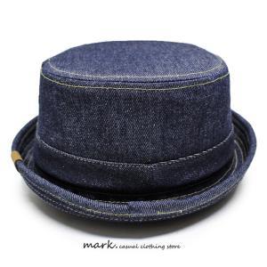RUBEN/ルーベン DENIM PORK PIE HAT デニム ポークパイハットメンズ レディース 帽子 サイズ調節付/XL|auc-mark|10