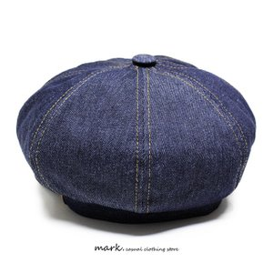 RUBEN/ルーベン DENIM CASKET デニムキャスケット大きいサイズ対応 2WAY キャスハンチング メンズ レディース 帽子 XL サイズ調節付 auc-mark 09