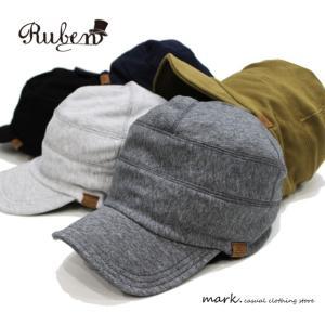 RUBEN / ルーベン SWEAT WORK CAP ライト スウェット ワークキャップ メンズ レディース 帽子 キャップ カジュアル アウトドア ゴルフ|auc-mark
