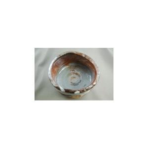 『焼締 志野 抹茶茶碗』陶芸作家 荒川明作(ach-2) 木箱付き 【送料無料】 ギフト、還暦祝い、定年、退職祝い、結婚祝い、誕生日、贈り物に♪|auctogei|03