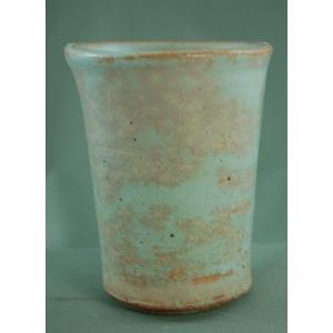 『御本手ビアカップ』陶芸作家 荒川明 作(bbi-2)木箱付き こだわりのギフト、還暦祝 贈り物  送料無料|auctogei