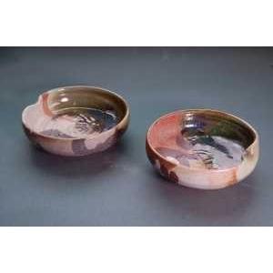鳴海織部 鳴海織部小鉢 2ヶ組 焼き物の種類別¥鳴海織部 koha-3|auctogei