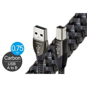 audioquest - USB2 CARBON/0.75m《USB2/CAR/0.75M》(USB2.0・A-B)【在庫有り即納】|audio-ippinkan