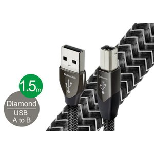 audioquest - USB2 DIAMOND/1.5m《USB2/DIA/1.5M》(USB2.0・A-B)【在庫有り即納】|audio-ippinkan