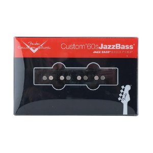 Fender フェンダー ピックアップ ジャズベース用 Custom Shop '60s Jazz Bass Pickup for Bridge|audio-mania