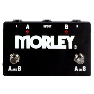 Morley エフェクター ABY Switch モーリー ABYスイッチ スイッチャー フットスイッチ 直輸入品 audio-mania