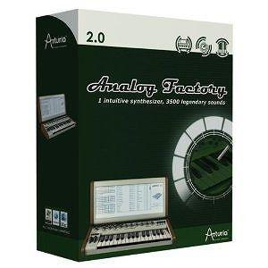 Arturia アートリア ANALOGFACTORY 2.0 ビンテージアナログシンセ音源 ダウンロード版 直輸入品 audio-mania