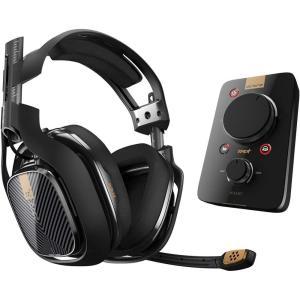 Astro Gaming アストロゲーミング ヘッドセット 有線サラウンド A40 TR + MIXAMP Pro TR Black  /PC/PS4対応 │直輸入品|audio-mania