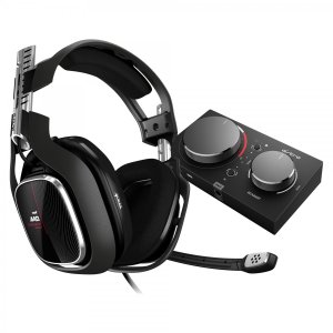 Astro Gaming アストロゲーミング ヘッドセット A40 TR Headset + MixAmp Pro TR Black /xbox one/PC/Mac/Switch対応 │直輸入品|audio-mania